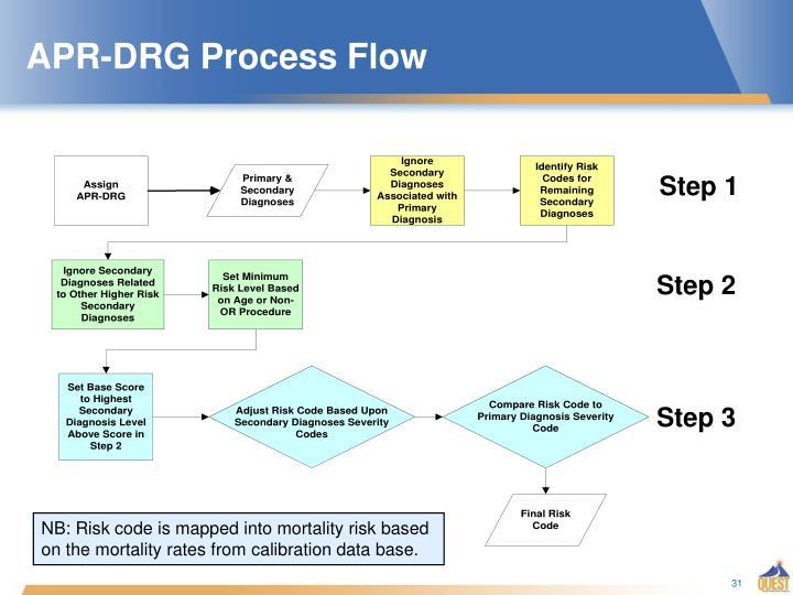 APR-DRG Process Flow