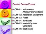 control device forms1