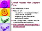 overall process flow diagram form