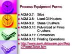 process equipment forms2