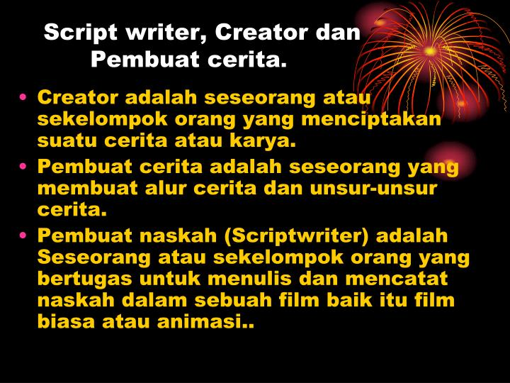 script writing creator By the scripting guys even the most talented programmer would never attempt to create a full-blown software application, such as word or excel, using scripts.