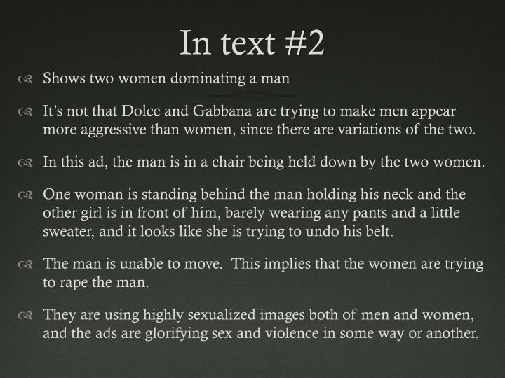In text #2