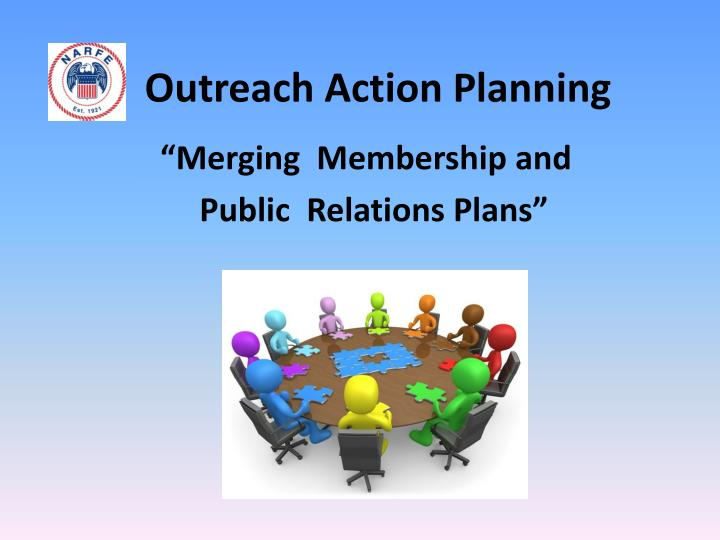 Outreach action planning