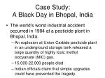 case study a black day in bhopal india