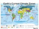 earth s current climate zones