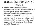 global environmental policy2