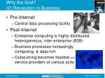why the grid 2 revolution in business