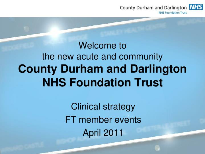 clinical strategy ft member events april 2011