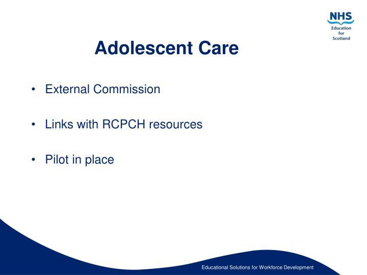 Adolescent Care