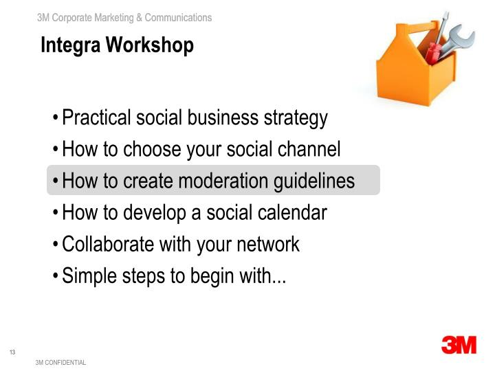 Integra Workshop