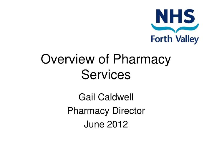 overview of pharmacy services n.
