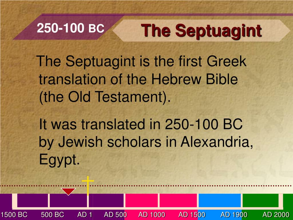 PPT - A Time Line of Key Events in the History of the Bible PowerPoint  Presentation - ID:3124561