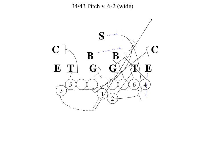 34/43 Pitch v. 6-2 (wide)