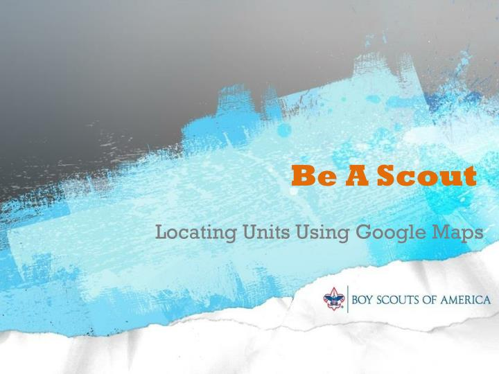 be a scout n.