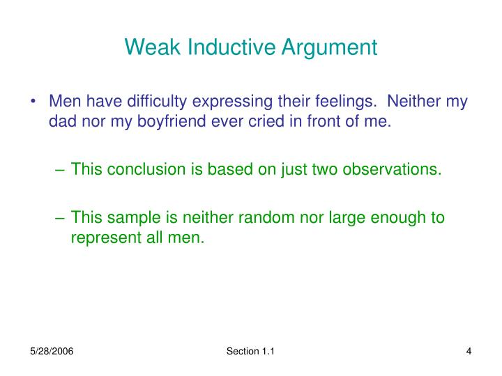 Ppt Section 11 Inductive And Deductive Reasoning Powerpoint