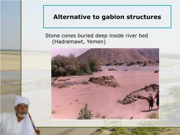 Alternative to gabion structures
