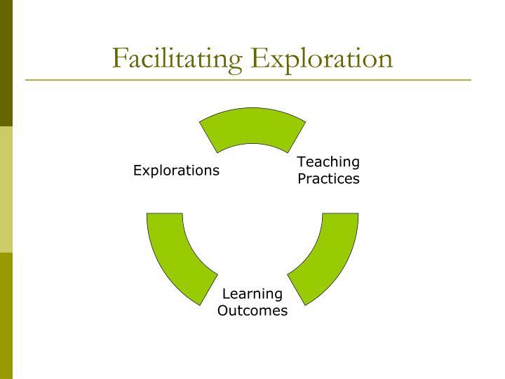 Facilitating Exploration