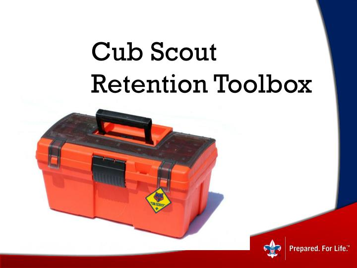 cub scout retention toolbox n.