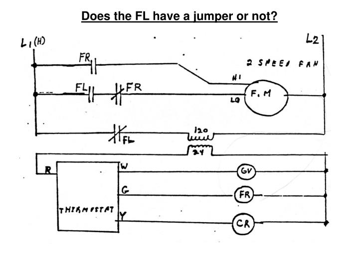 Does the FL have a jumper or not?