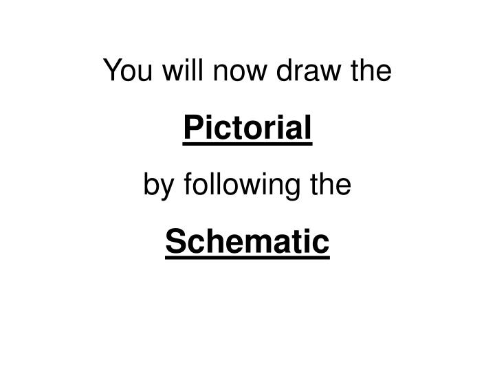You will now draw the
