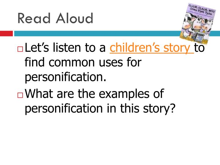 Ppt Personification Powerpoint Presentation Id3126233