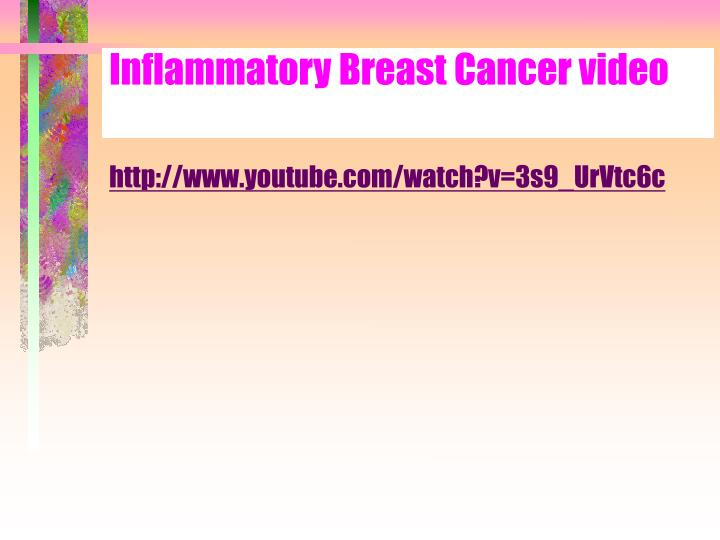 Inflammatory Breast Cancer video