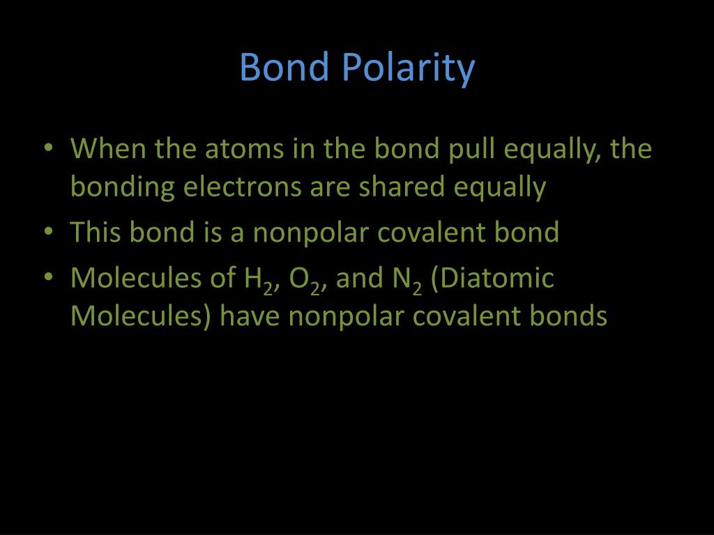 Ppt Polar Bonds And Molecules Powerpoint Presentation Free Download Id 3126314