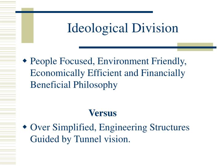 Ideological Division