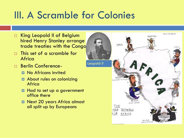 partition and scramble of africa This episode provides an overview of the scramble for africa and how the 1885 berlin conference changed european colonialism on the continent what did colonialism.
