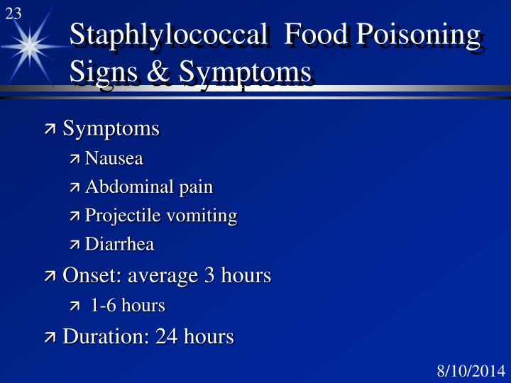 28 Onset Of Food Poisoning Symptoms Professor J Montville Ppt