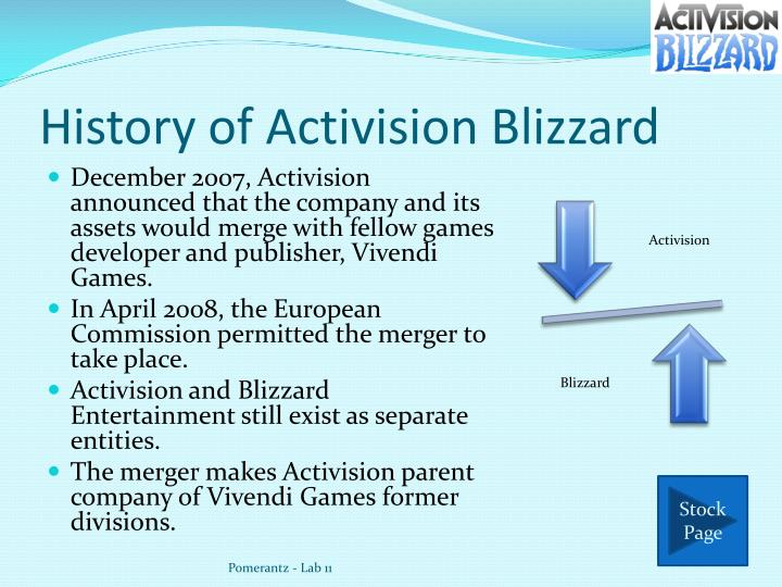 when did activision and blizzard merge