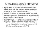 second demographic dividend1