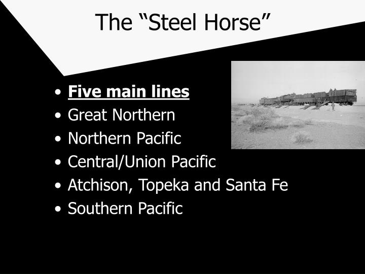 The steel horse