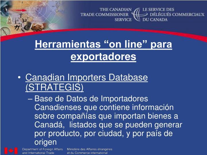 """Herramientas """"on line"""" para exportadores"""