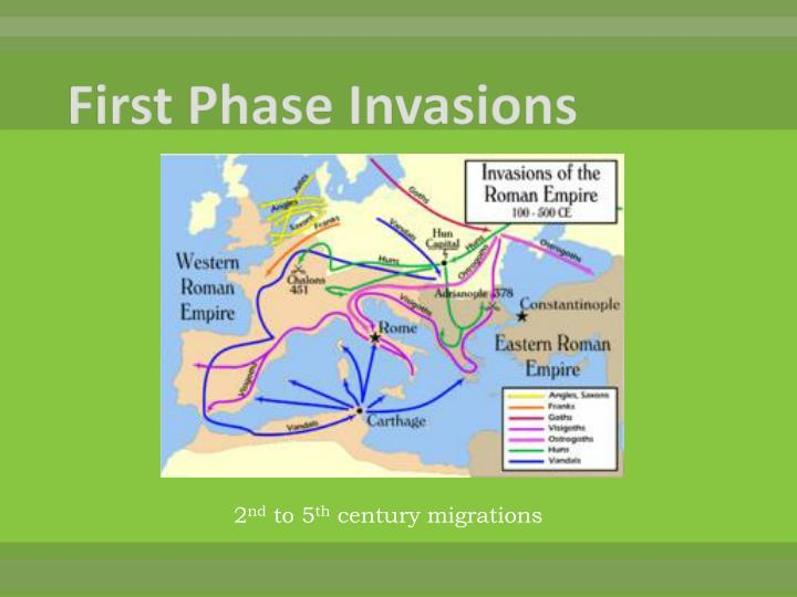 First Phase Invasions