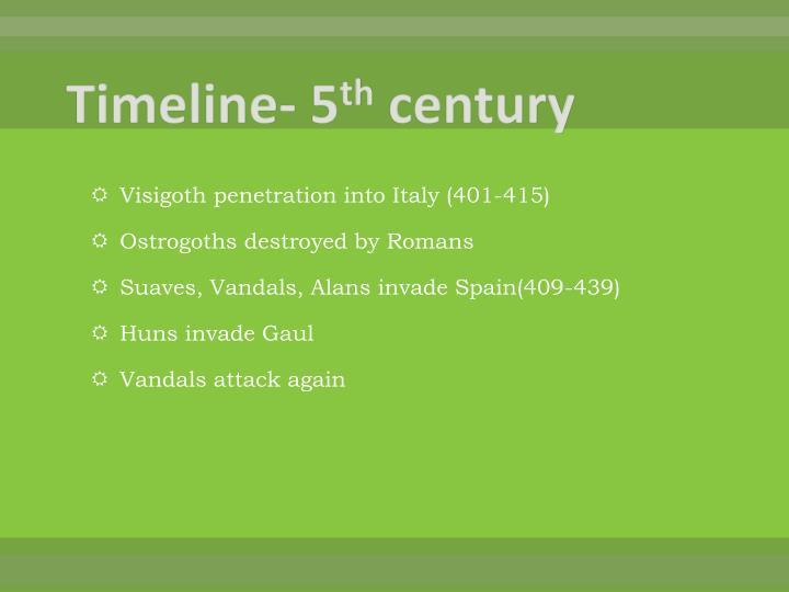 Timeline- 5