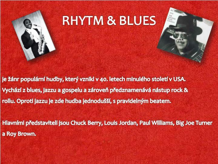 Rhytm blues