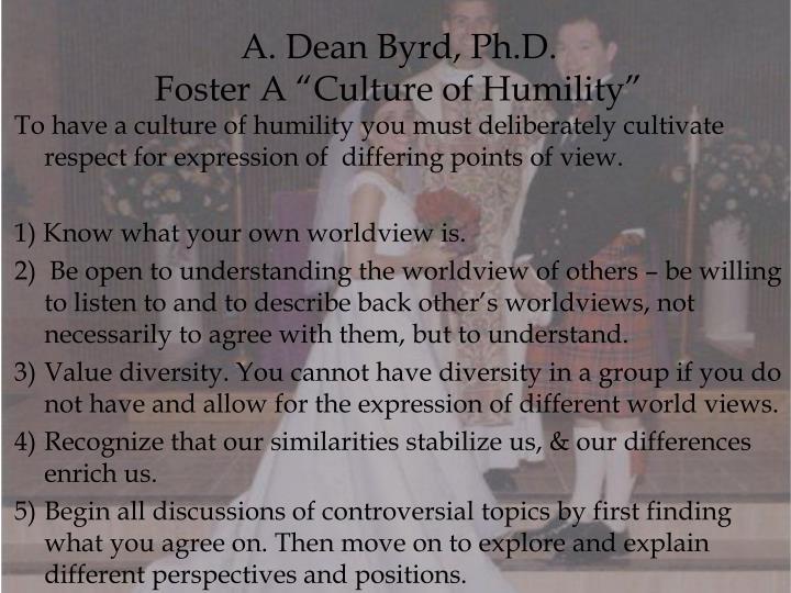 A. Dean Byrd, Ph.D.