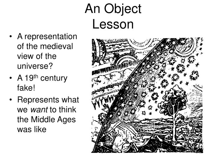 An Object Lesson