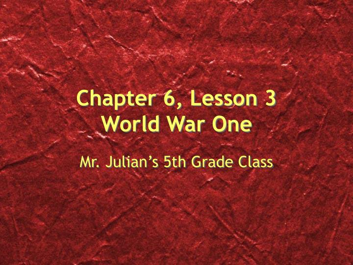 world war 1 simple essay Read this essay on world war 1 come browse our large digital warehouse of free sample essays get the knowledge you need in order to pass your classes and more only at termpaperwarehousecom.
