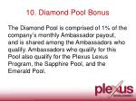 10 diamond pool bonus