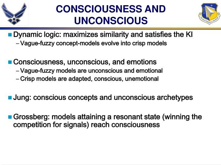 CONSCIOUSNESS AND UNCONSCIOUS