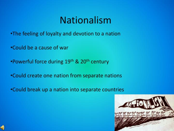 german unification nationalism essay In conjunction with german nationalism and the aforementioned factors the role of bismarck was key and arguably the most important role in linking all the factors to bring about german unification bismarck never had the intention of uniting the german states he simply wanted to expand prussian interest within europe.