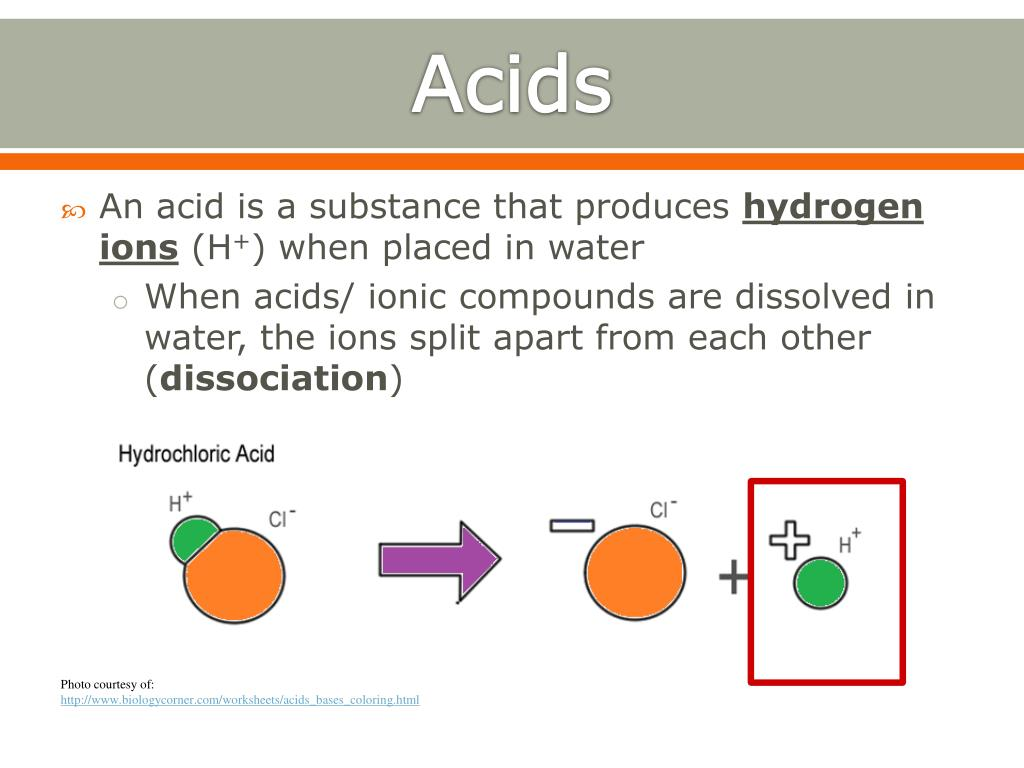 PPT - Chapter 23 Acids, Bases, and Salts PowerPoint Presentation