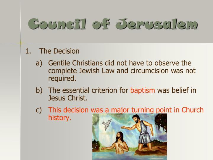 Council of Jerusalem