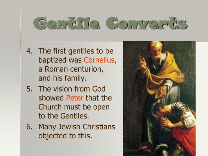 Gentile Converts