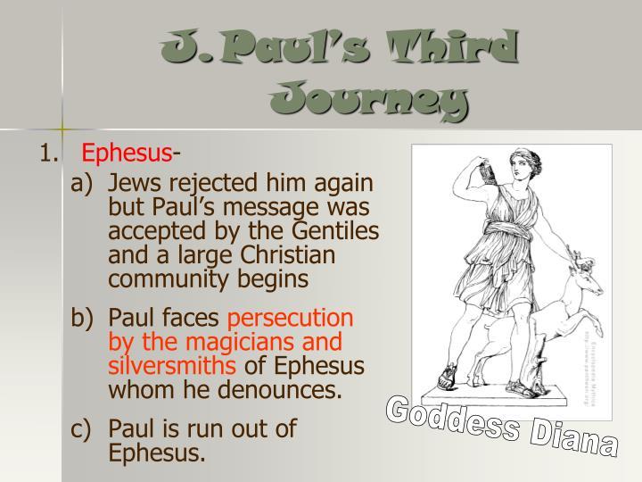Paul's Third Journey