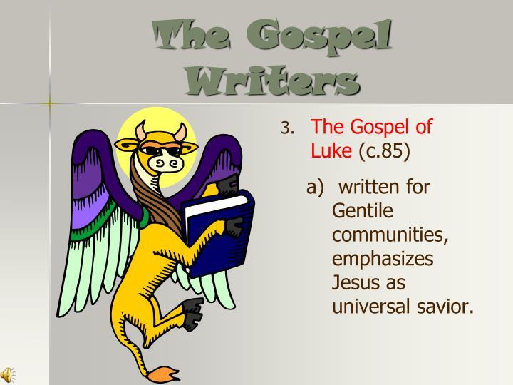 The Gospel Writers