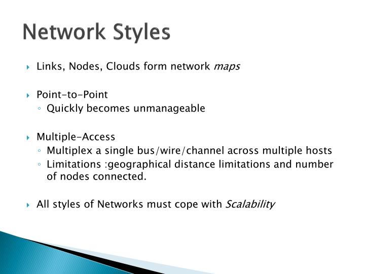Network Styles