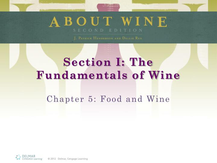 section i the fundamentals of wine n.
